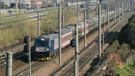 【中国国铁】HXD3C-0060与CRH2A赛跑