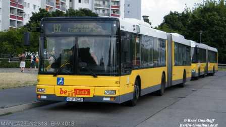 『干部来袭』OMSI2 New Berlin Spandau 192路 MAN_A23_NG313 B-V 4018 巴士模拟2..