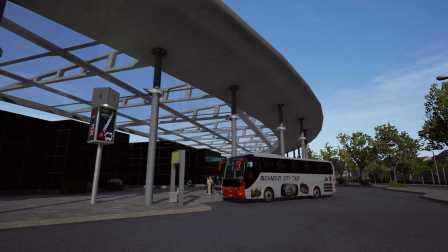 『干部来袭』Fernbus Simulator 柏林→汉堡 Part2 德国长途客车模拟