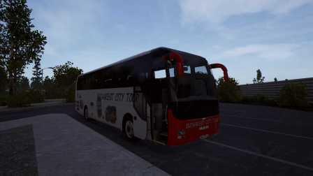 『干部来袭』Fernbus Simulator 柏林→汉堡 Part1 德国长途客车模拟
