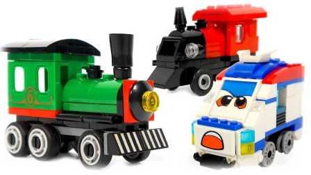 乐高玩具  火车儿童视频 汽车城之火车特洛伊 乐高积木 小儿科  托马斯火车