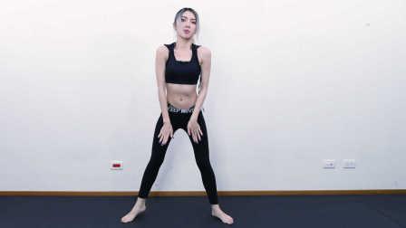 4分钟爆汗跳舞减肥,女生一定要练!