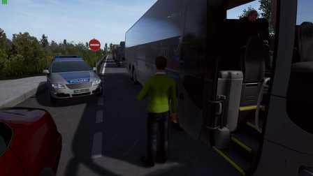 『干部来袭』Fernbus Simulator 柏林→汉诺威 Part1 德国长途客车模拟