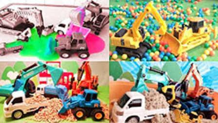 挖掘机视频表演大全 挖掘机工作视频表演 挖土机工作的视频 儿童挖掘机视频表演大全
