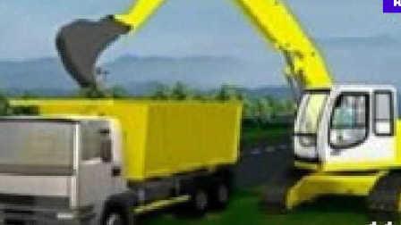 挖掘机工作超长视频表演大全 工程车 推土机 汽车 挖土机玩具视频