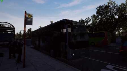 『干部来袭』Fernbus Simulator 汉诺威→比勒费尔德 德国长途客车模拟