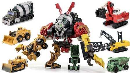 挖掘机和装甲车 小汽车玩具游戏  变形金刚之救援汽车人 联合机器人 变形金刚之领袖的挑战  至尊大力神建设 车辆组合玩具 魔幻车神 迷你特工队之英雄的变形金刚
