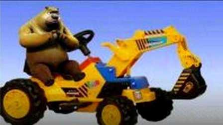 消防车救护车工程车玩具挖掘机视频表演大全
