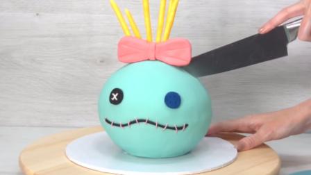 美女与怪兽 翻糖蛋糕制作 惟妙惟肖