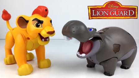 狮子王和大河马玩具动物园的故事  快乐玩具秀