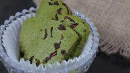 【Amy时尚世界】抹茶巧克力豆饼干