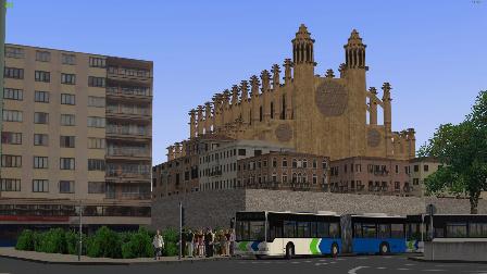 『干部解说』OMSI2 Palma de Mallorca 25路 Mercedes Citaro O530G 巴士模拟2