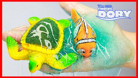 手工制作晶莹剔透水晶海水 120