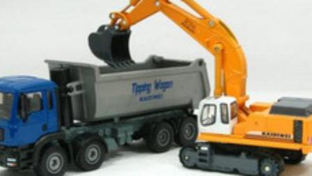 超级铲车司机 玩具视频惯性汽车 挖掘机 挖土机 搅拌车 铲车 吊车 大卡车 汽车总动员 .mp4