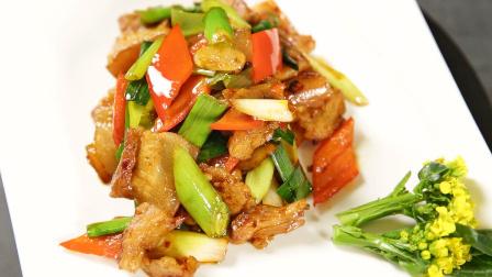 """名厨教你做下饭""""回锅肉"""" 入口浓香肥而不腻"""