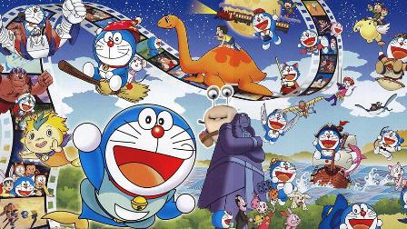 蓝胖子哆啦A梦的搞笑变脸超能力 98