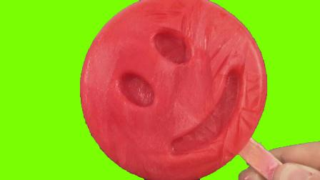 月采亲子游戏 2017 超级好吃的牛奶笑脸冰棒 冰淇淋彩泥玩具 56