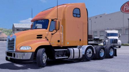 美国卡车模拟-墨西哥地图 山路小道  马克 Mack_Pinnacle