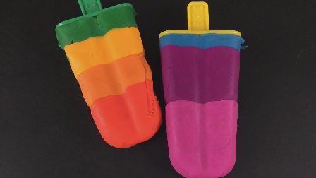 彩泥橡皮泥 彩虹黏土 冰凉凉的冰淇淋套装玩具 64