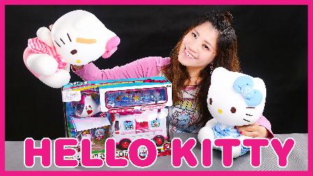迪士尼姐姐真人秀 凯蒂猫Holle kitty玩具开箱 133