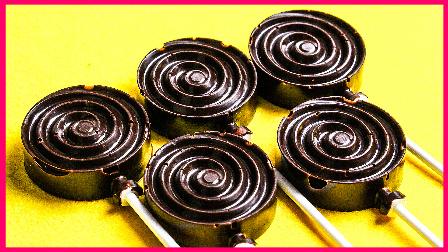 美味巧克力棒棒糖 136