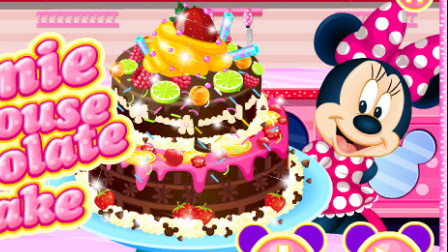 米奇妙妙屋 米奇中文版 米妮做巧克力蛋糕