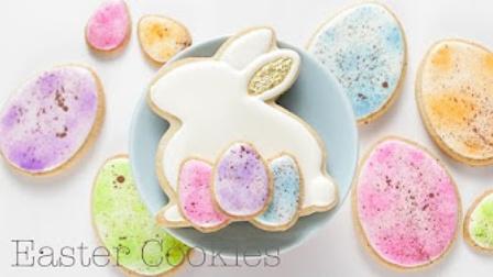 【喵博搬运】【食用系列】复活节兔子和彩蛋糖霜饼干(。-`ω´-)