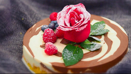 【i烘焙美食实验室】斑马芝士蛋糕