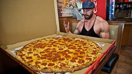 Bradley Martyn - 我吃了世界上最大号的披萨 - 452