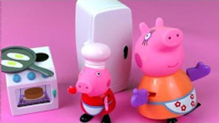 小不点的玩具 2017 小猪佩奇开冰激凌店 粉红猪小妹当老板卖冰激凌 577 小猪佩奇开冰激凌店