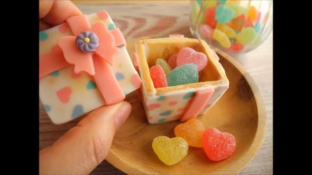 【Amy时尚世界】用巧克力来装饰饼干礼盒