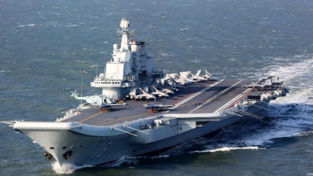 辽宁舰甲板究竟能放多少歼15?答案已经被一张图片曝光了