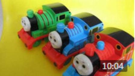 乐高城市动画片 托马斯小火车玩具视频