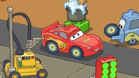 乐高城市动画片 迷你卡车 汽车总动员