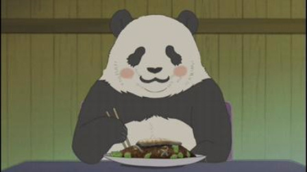 白熊咖啡厅  最好吃的竹子