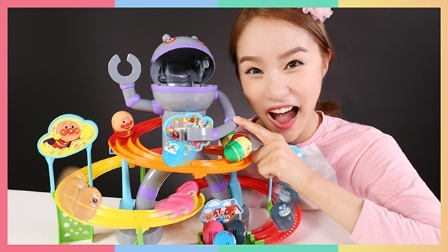 凯利和玩具朋友们 2016 面包超人 细菌机器人和不倒翁洋娃娃玩具游戏 36 不倒翁洋娃娃玩具游戏