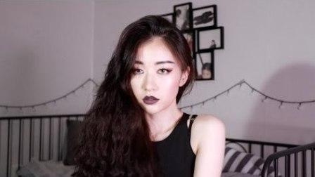 个性魅力黑暗五官立体欧美妆容 —  Ood