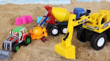 挖土機玩具視頻 勾機玩具視頻 大挖掘機 勾機工作視頻表演