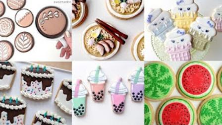 【喵博搬运】【食用系列】糖霜饼干合集(・▽・。)