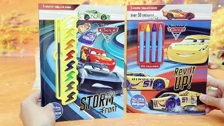 赛车总动员3 极速挑战 剧透 酷姐成麦昆最后依靠 填色画册玩具