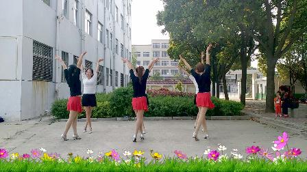 华美舞动广场舞原创双人舞《新欢旧爱》简单32步含教学