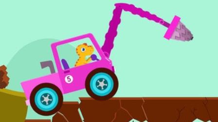 疯狂起重机驾驶 挖掘机工作超长视频表演大全 工程车 推土机 汽车 挖土机玩具视频
