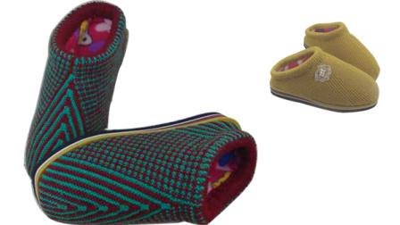【手工织品视频教学】一道梅编织视频教程零基础完整毛线拖鞋毛线棉鞋视频