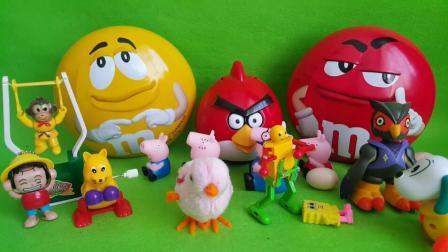 小马宝莉拆圆形的迪尼士奇趣蛋玩具,企鹅家族 小熊维尼历险记