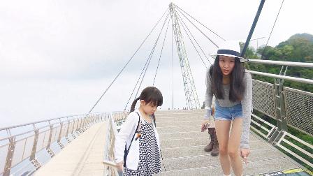 超百层楼高的大桥仅用一根支柱 你敢走吗? 49