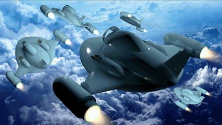 C4D卡通科幻迷你战斗机建模中文视频教程 01 机身和机翼