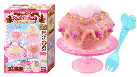 玩具益趣园 2017 日本食玩DIY可食草莓蛋糕