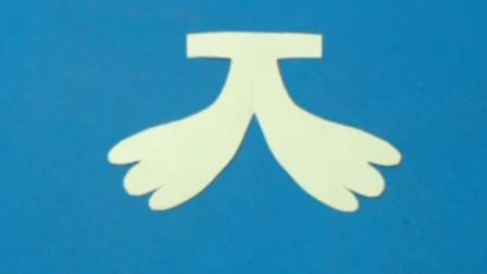 剪纸小课堂257:剪纸 香蕉 儿童剪纸教程视频大全 亲子手工DIY教学