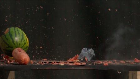 真会玩06:西瓜被火腿肠炸得粉粹,DIY液氮小炮