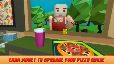 【小源去哪了】披萨模拟器 新鲜出炉的鱼子酱老鼠屎披萨来咯!